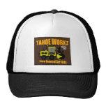 Gorra del dibujo animado de Tahoe Workz