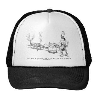 Gorra del dibujo animado del Bbq de Bob