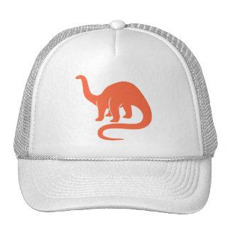 Gorra del dinosaurio - naranja