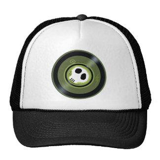 Gorra del disco de vinilo del cráneo