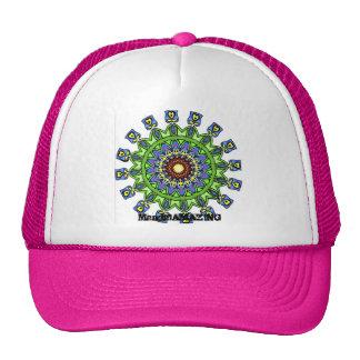 Gorra del diseño de la mandala #1 de la flor