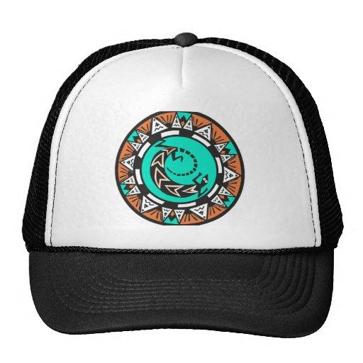 Gorra del diseño del nativo americano