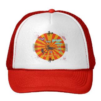 Gorra del disipline de la cometa del estilo del ka