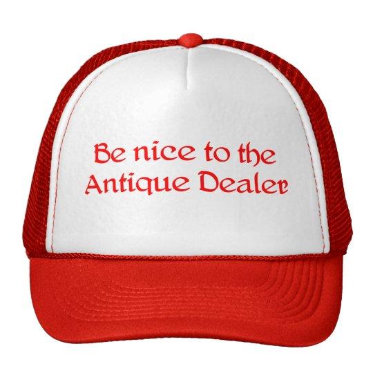 Gorra del distribuidor autorizado antiguo