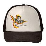 Gorra del dragón de la estrella del fuego (negro/b