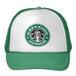 Gorra del drogadicto del cafeína
