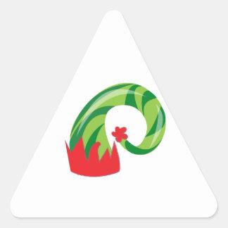 Gorra del duende pegatina triangular