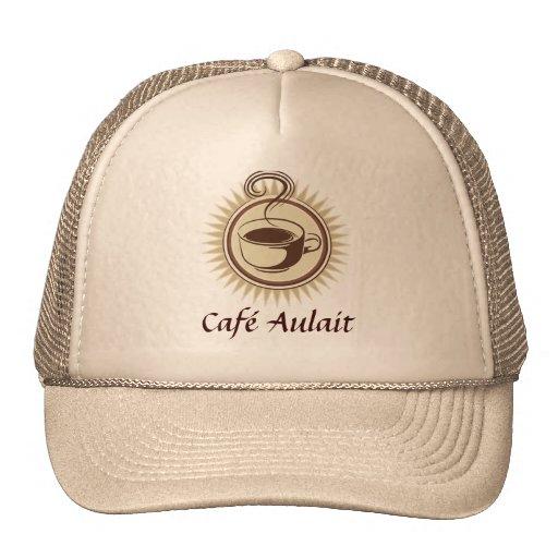 Gorra del empleado de la barra de café
