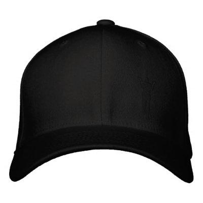 Gorra del engranaje de Paul--Negro Gorras De Béisbol Bordadas