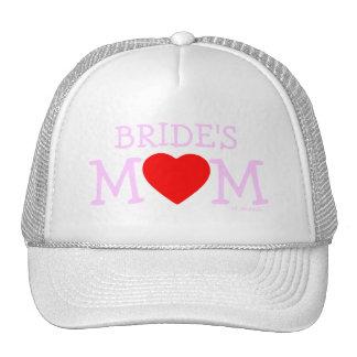 Gorra del ensayo del boda de la madre de la novia
