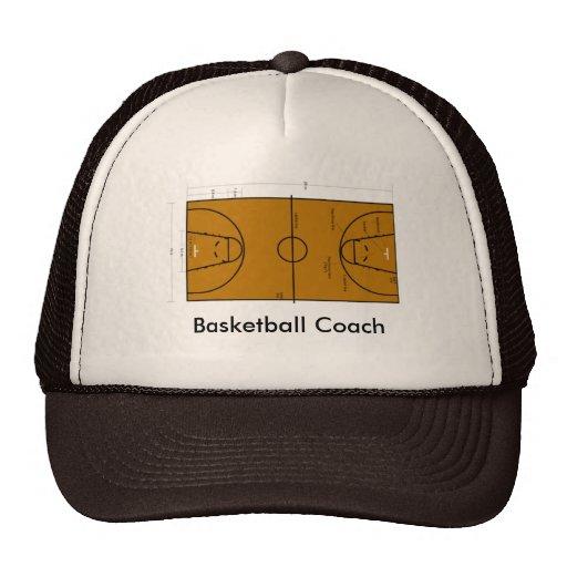 Gorra del entrenador de béisbol