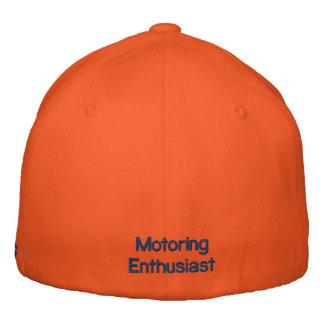 Gorra del entusiasta que viaja en automóvili por gorras bordadas