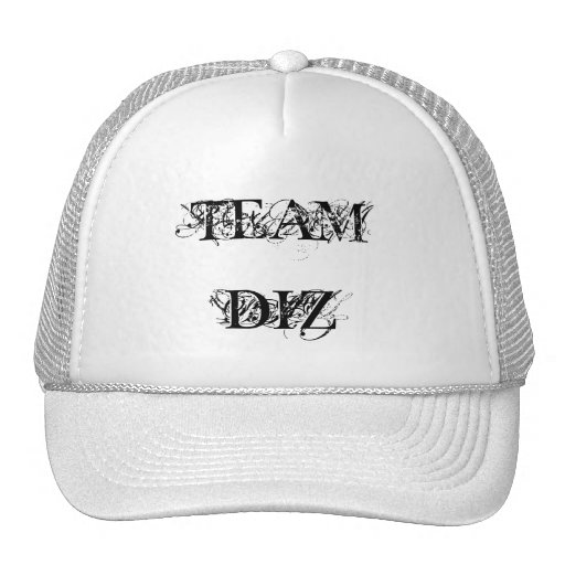 Gorra del equipo de DJ Diz