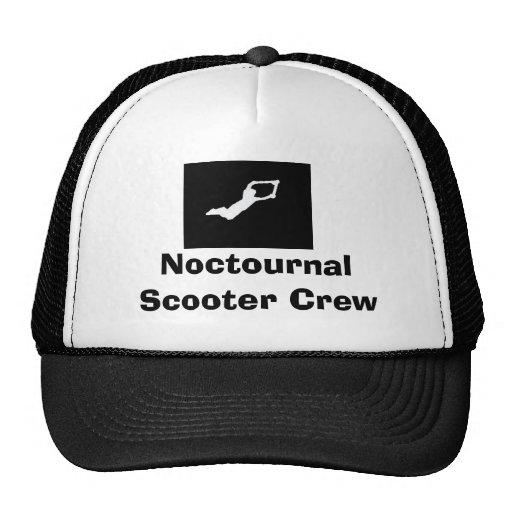 Gorra del equipo de la vespa de Noctournal