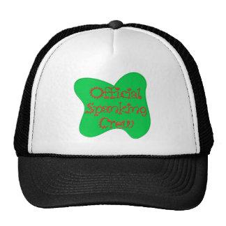 Gorra del equipo del azote del cumpleaños