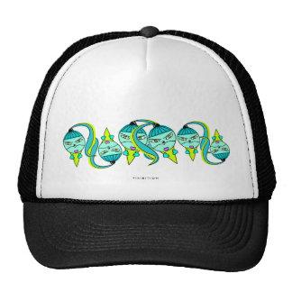Gorra del equipo del cono de helado del monstruo
