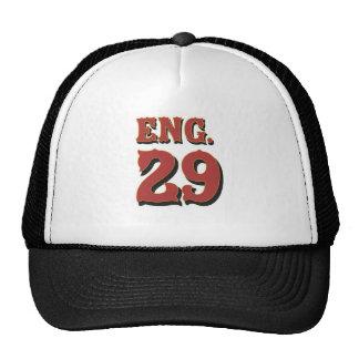 Gorra del equipo del motor 29