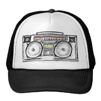 Gorra del equipo estéreo portátil