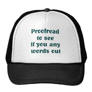 Gorra del escritor