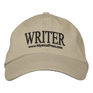 Gorra del escritor gorro bordado