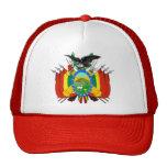 Gorra del escudo de armas de Bolivia