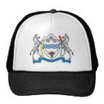 Gorra del escudo de armas de Botswana