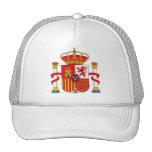 Gorra del escudo de armas de España