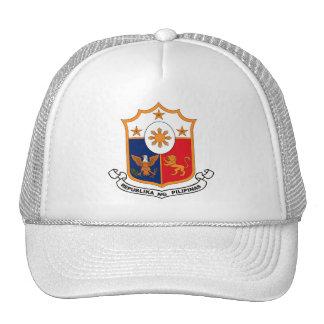 Gorra del escudo de armas de Filipinas