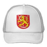 Gorra del escudo de armas de Finlandia