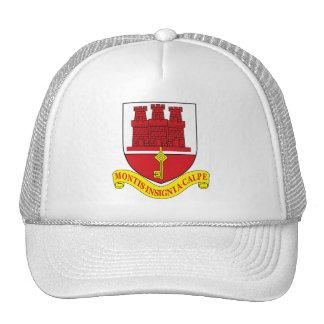 Gorra del escudo de armas de Gibraltar