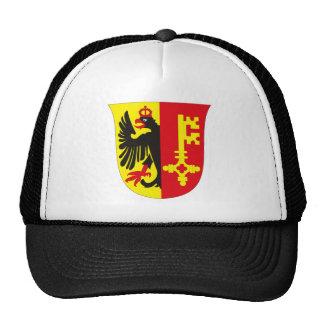 Gorra del escudo de armas de Ginebra