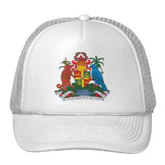 Gorra del escudo de armas de Grenada