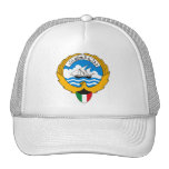Gorra del escudo de armas de Kuwait