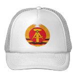 Gorra del escudo de armas de la Alemania Oriental
