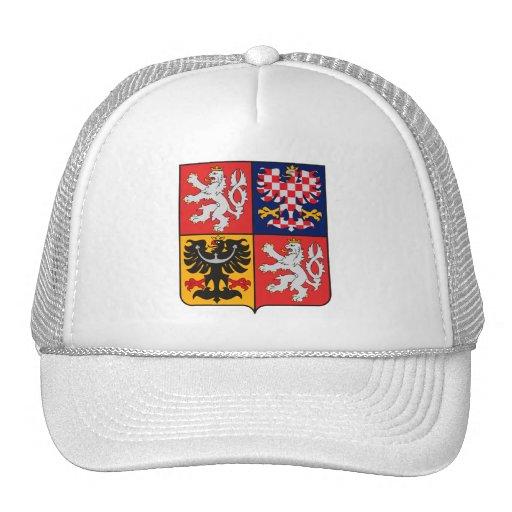 Gorra del escudo de armas de la República Checa