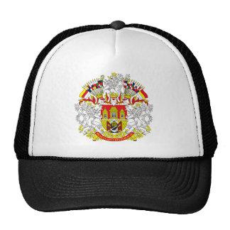 Gorra del escudo de armas de Praga