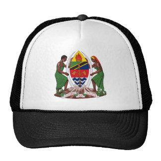 Gorra del escudo de armas de Tanzania