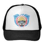 Gorra del escudo de armas de Tierra del Fuego