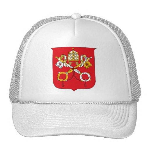 Gorra del escudo de armas de Vatican