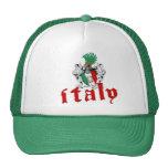 Gorra del escudo de Italia