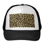 Gorra del estampado leopardo
