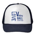 Gorra del estilo de la calle del voleibol del amor