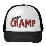 Gorra del estilo de Vegas del campeón del campeón