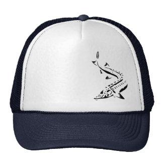 Gorra del esturión - Tribal1-black