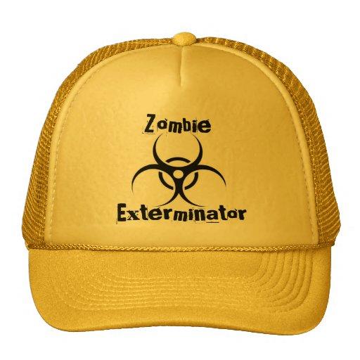 Gorra del Exterminator del zombi