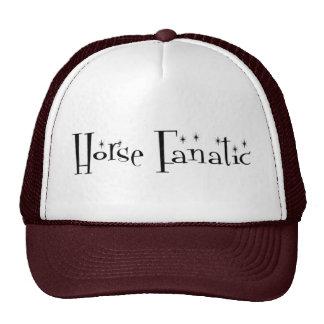 Gorra del fanático del caballo