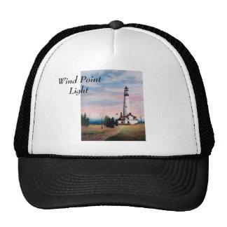 Gorra del faro del punto del viento