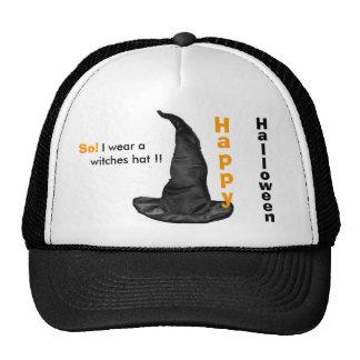 Gorra del feliz Halloween del gorra de las brujas