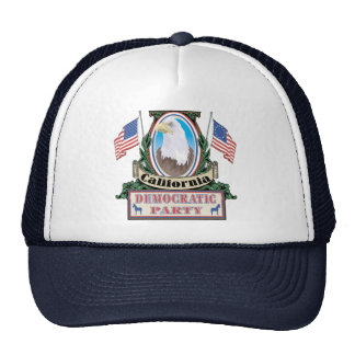 Gorra del fiesta de California Demócrata