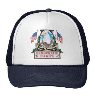 Gorra del fiesta de Carolina del Norte Demócrata